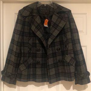 Jackets & Blazers - NWT gray/Black Pea Coat